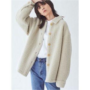Uniqlo U Christophe Lemaire Short Coat Fleece